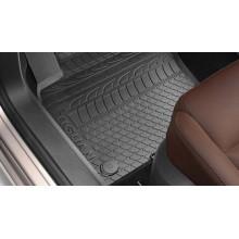 koberce VW Tiguan 5N gumové vzor pneu sada přední
