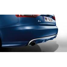 spoiler Audi A4 difusor dva výfuky na každé straně B8 8K1 zadní 8K0071620B 9AX