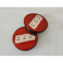 poklička BBS červeno stříbrná NÜRBURGRING edition 70,6mm