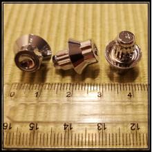 imitace šroubu hlinik chromový vnější torx hlava 13mm