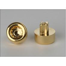 imitace šroubu pozlacený plast vnější torx hlava 14mm narážecí