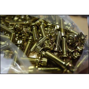 šroub M7x24 mm gold zlatý zlaté BBS RM OZ