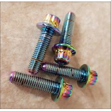 šroub M7x24 mm hlava 14mm multicolor multicolour
