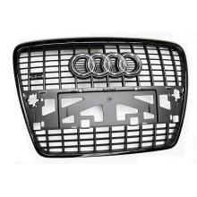 maska Audi A6 4F černá model Sline