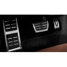 pedály Audi A6 A7 model C7 4G RS vzhled sada vč nášlapu automat