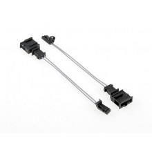 adapter redukce Audi adaptér pro LED osvětlení SPZ Audi A4 8K A5 8T Q5 8R