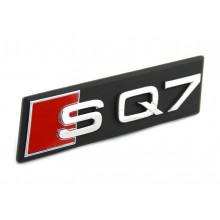 logo znak Audi Q7 4M nápis SQ7 přední maska