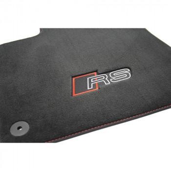 koberce Audi RSQ8 Premium látkové logo RS sada přední a zadní