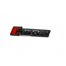 logo znak Audi Q3 model F3 nápis RSQ3 černý Black Edition přední maska