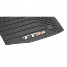 koberce Audi TT s logem TTRS gumové přední sada