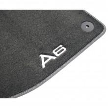 koberce Audi A6 C8 4A látkové Premium přední sada