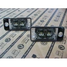 LED Audi osvětlení SPZ A6 A4 A3 A5 A8 Q7 originál Audi