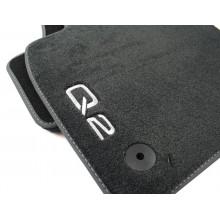 koberce Audi Q2 látkové Premium černé sada přední a zadní