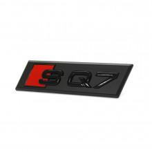 logo znak Audi Q7 nápis SQ7 4M Exclusive Black Edition přední maska