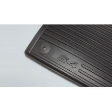 koberce Audi A4 nápis S4 gumové přední sada logo S4