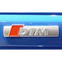 logo znak Audi A4 nápis DTM na boční lišty