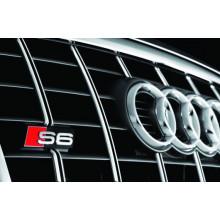logo znak Audi A6 4F nápis S6 přední maska