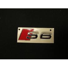 logo znak Audi A6 nápis S6 zadní nalepovací