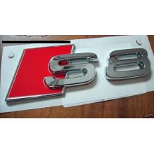 logo znak Audi A8 nápis S8 zadní nalepovací
