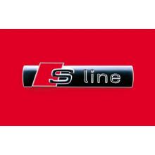 logo Audi nápis S Line sline boční