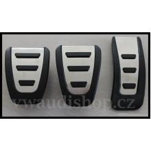 pedaly Audi S5 A4 Q5 sada - manuál