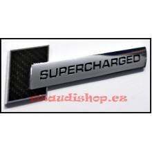 logo znak Audi A6 S6 USA nápis Supercharged