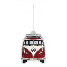 Vonítko VW T1 Bulli Bus Air Freshener Vanilla Červená barva