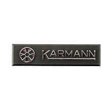 logo znak VW Golf 1 MK1 Cabrio nápis KARMANN plaketa original 155853901