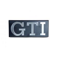 logo znak VW Golf 1 nápis GTI chrom do přední masky