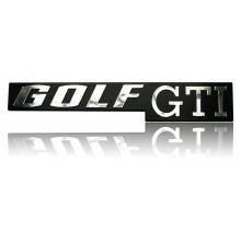 logo znak VW Golf 1 nápis Golf GTI zadní