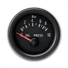 budík přídavný - tlak oleje