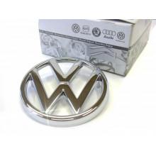 logo znak VW Golf 1 chrom logo VW do přední masky