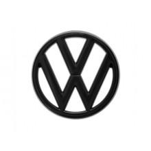 logo znak VW VW Golf 1 Jetta Cabrio Caddy Scirocco Passat Iltis nápis VW do masky černá barva