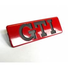 logo znak VW Golf 2 G60 nápis GTI červené boční lišty