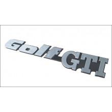 logo znak VW Golf GTI pro Golf 2 zadní nacvakávací G60 16V