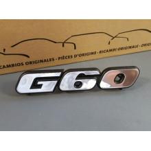 logo znak VW Golf 2 nápis G60 chromový přední maska 191853679N