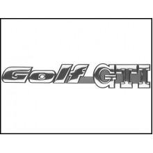 logo znak VW Golf 2 Golf 3 nápis Golf GTI zadní 1H6853687AD