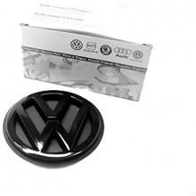 logo znak VW Golf 3 nápis VW černý zadní