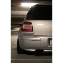 spoiler VW Golf 4 V6 pro otvor výfuku zadní