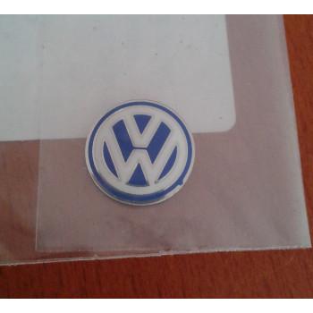 logo VW modrobílé pro klíče original