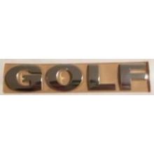 logo znak VW Golf 4 nápis GOLF zadní