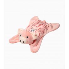 plyšák Porsche prasátko deka Cuddle blanket 917 Pink Pig