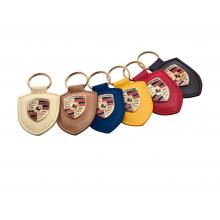přívěsek klíčenka Porsche kožená se znakem Porsche na klíče různé barvy