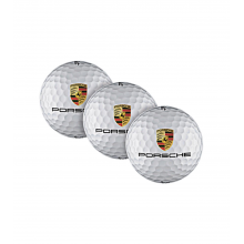 golfové míčky Porsche sada tří kusů