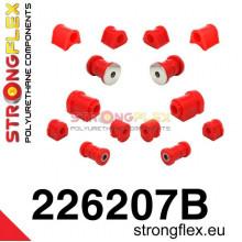 Strongflex kompletní sada červená verze VW Golf 1 Jetta 1 Caddy 1 Scirocco