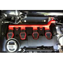 kryt kabelového svazku Audi R8 k zapalovacím cívkám motory TFSI červený