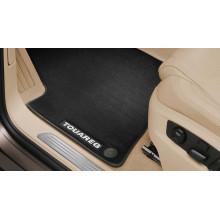 koberce VW Touareg látkové premium přední a zadní