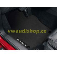 koberce VW Scirocco látkové textilní Premium sada přední