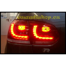 LED světla VW Golf 6 GTI tmavá model R20 GTI Edition GTD sada zadní