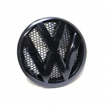 logo znak VW T5 přední maska černá barva černý army